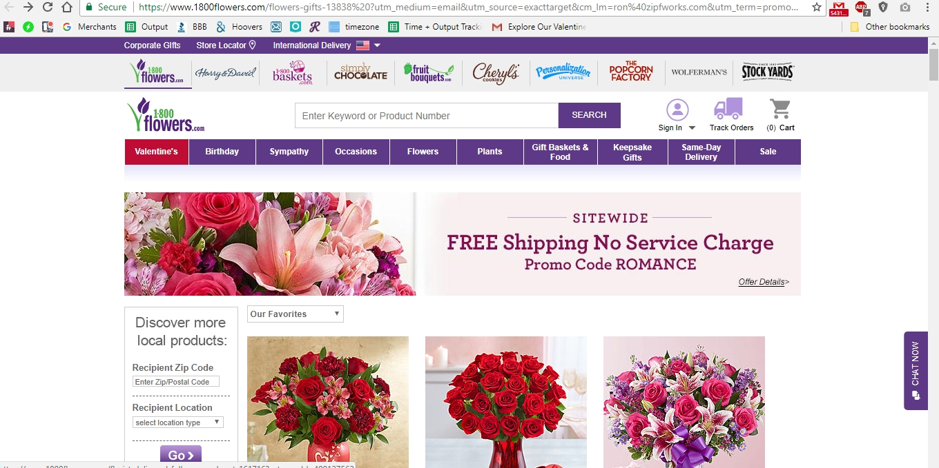 1800flowers coupons 2018