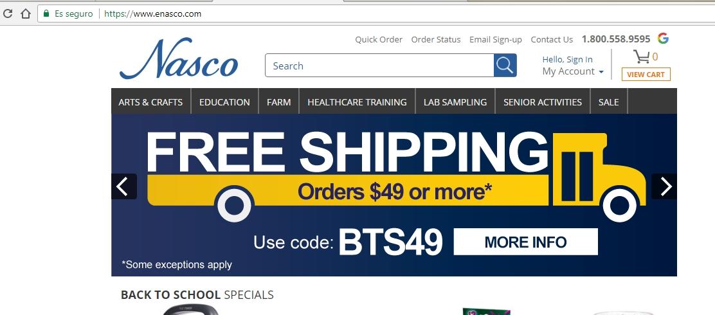 Nasco coupon code