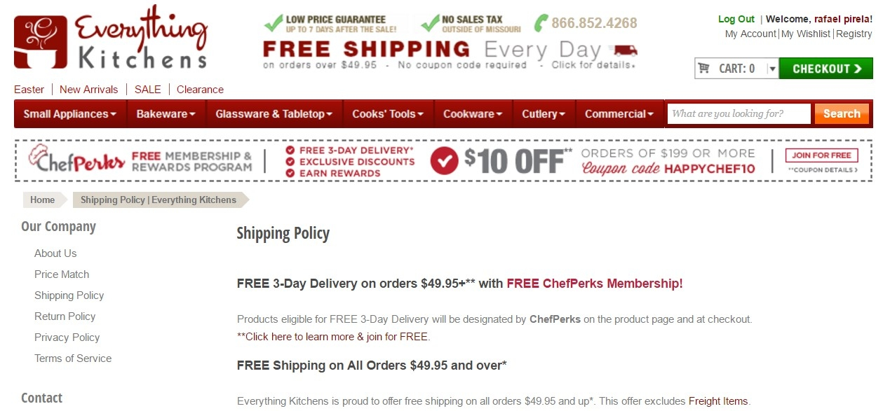 Everything kitchens coupon code
