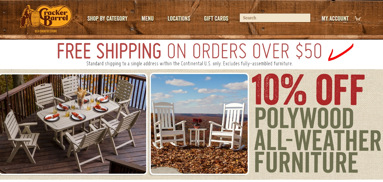 75% Off Cracker Barrel Coupon Code | Cracker Barrel 2018 ...