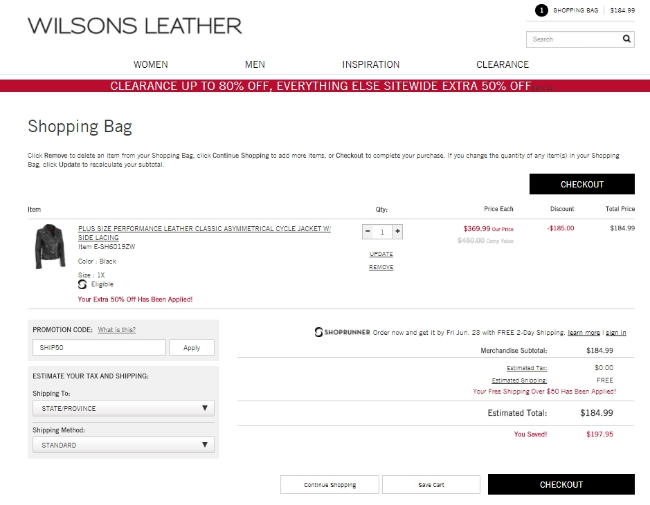 3. On a regular monthly basis, Wilsons Leather releases coupons that range in discount percent from 20% to 70%. Higher discounts are usually seen during November and December. 4. Make sure you're sending items back within 60 days to take advantage of free returns. 5.