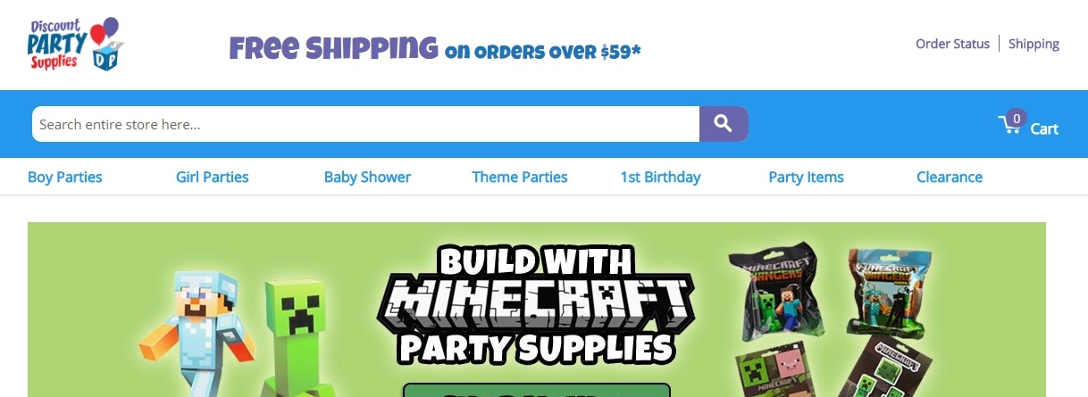 Discount Birthday Party Supplies, favors, decorations for your kid's big day!Over Party Themes· Low Prices· Supplies Up to 90% Off· Google Trusted StoreTypes: Boy Parties, Girl Parties, Baby Shower, Themed Parties, 1st Birthday.
