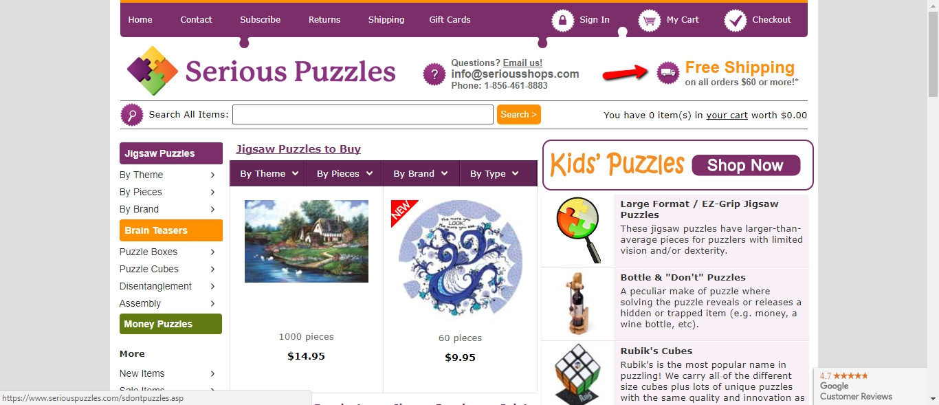 coolafil40.ga is serious about providing you with enjoyable and mind-stimulating puzzle games. It even has a resource page in case you have a missing piece and want to obtain replacement. Shop today and start solving jigsaws!