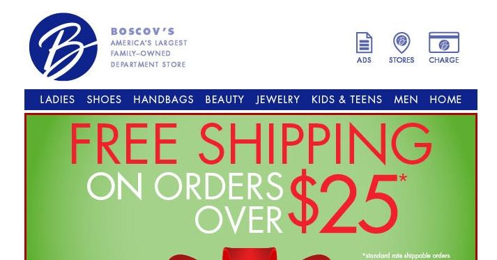 Boscovs printable coupons 2019