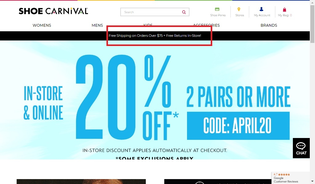 Shoe carnival coupons in store 2019
