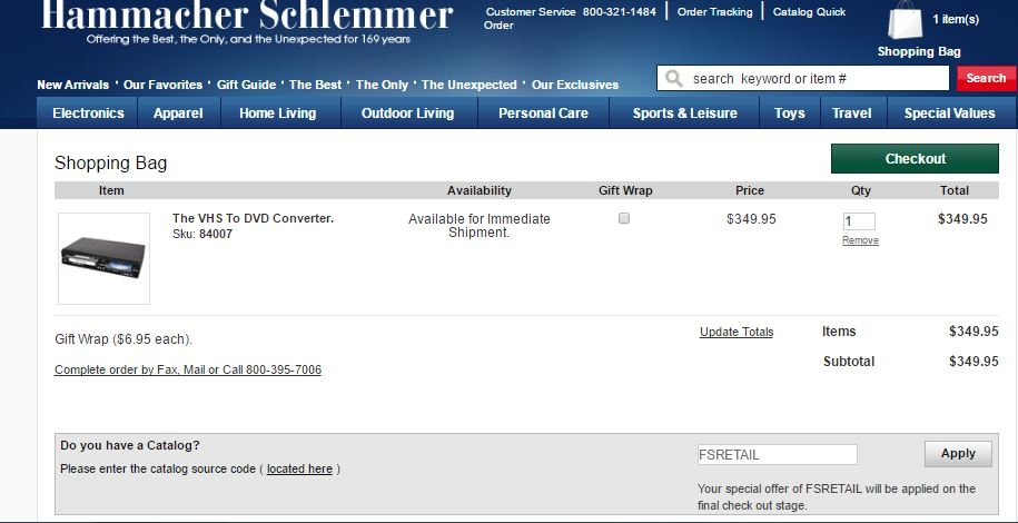 Hammacher schlemmer coupon codes
