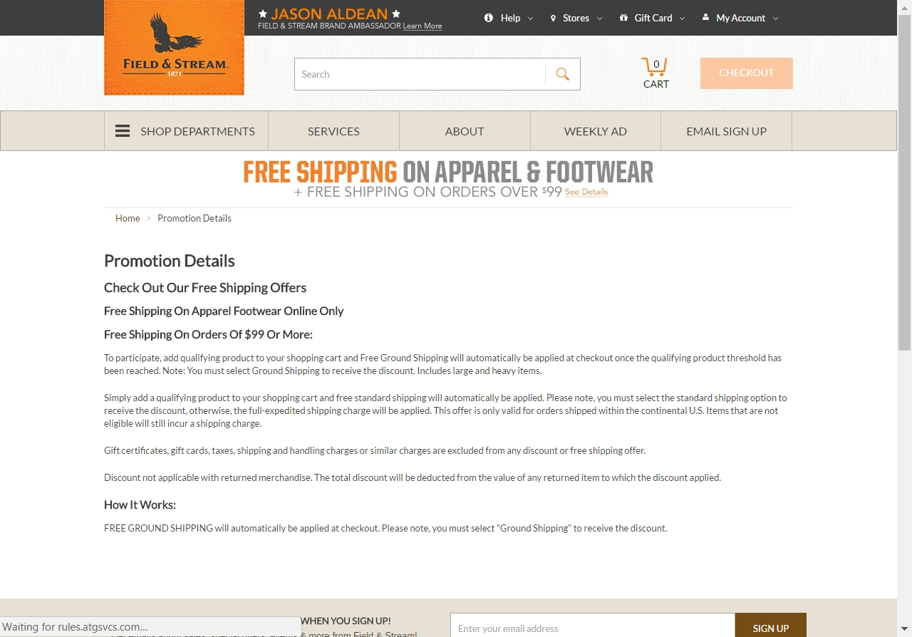 Field and stream sports coupons