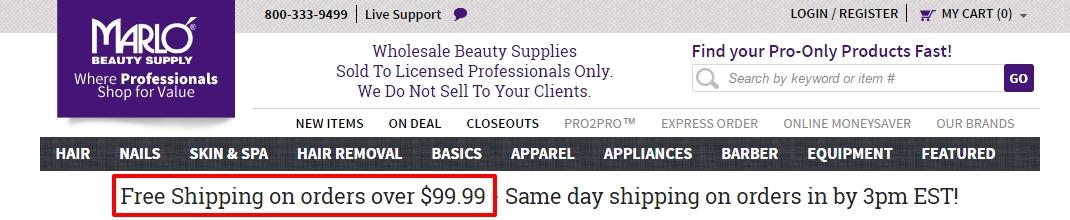 Marlo beauty coupon code