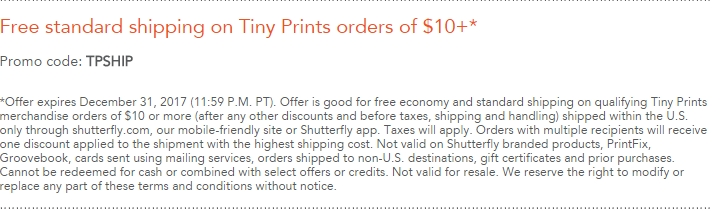 Shutterfly coupon codes free shipping may 2018