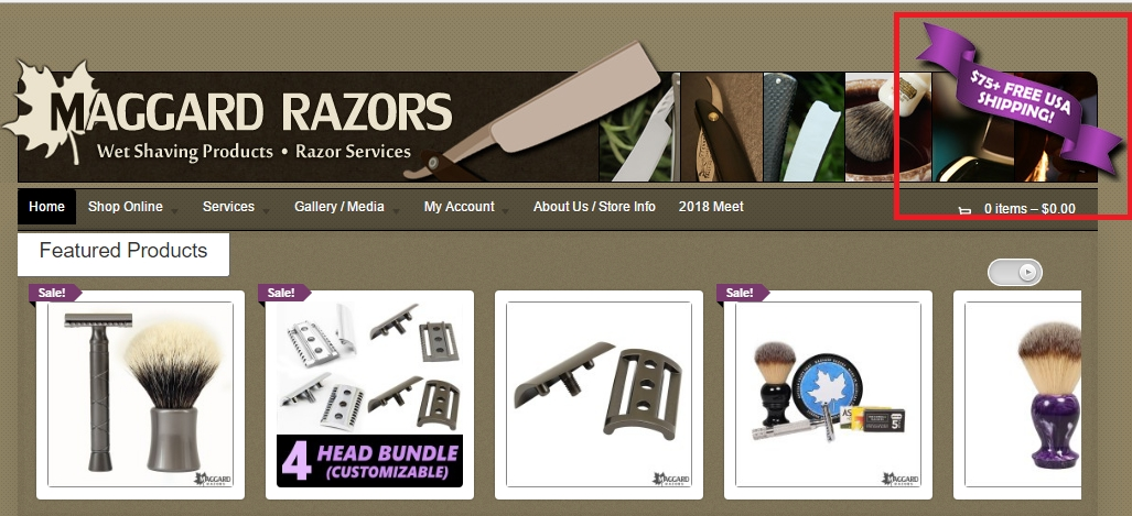 Maggard Razors Coupons. Last Update: November 17, Introducing the first Maggard Badger brush!  With a solid Aluminum handle, and matte gray finish, itâ s not only a great performer, but also a beautiful addition to any shaving kit.  Priced at only $, itâ s sure to be a hit.