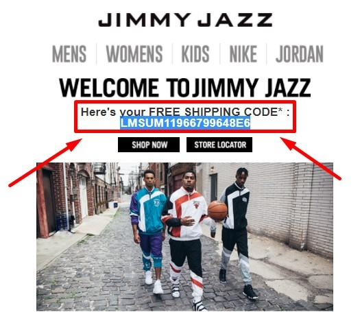 Jimmy jazz coupon code