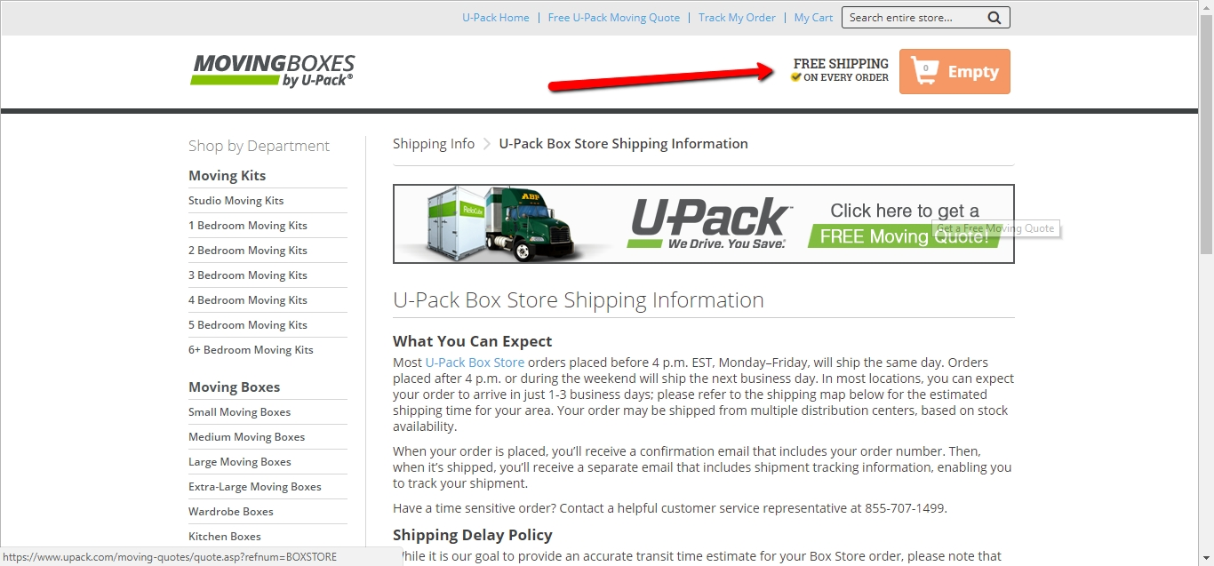U-Pack price vs. truck rental coupons. Think using moving coupons on a truck rental is a more affordable option? Let's look at an example to see how prices compare. Say you're moving a two bedroom home from Memphis, Tennessee to Portland, Oregon – a 2, mile drive – and want to compare U-Haul ® to U-Pack.