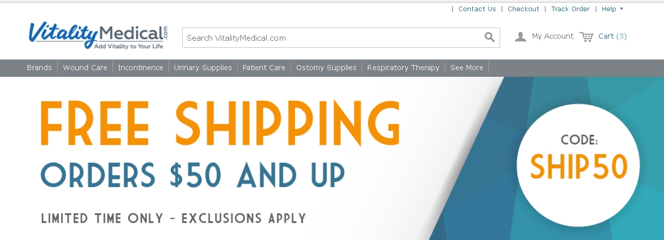 Vitality medical coupon code