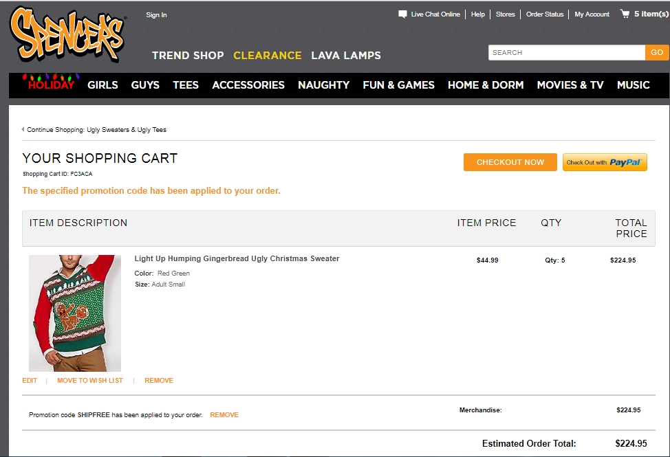 Spencers gifts coupon code