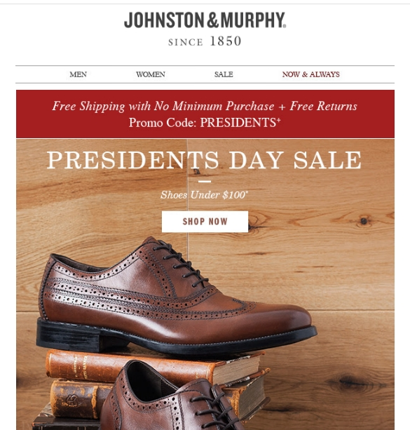 Johnston and murphy coupon code