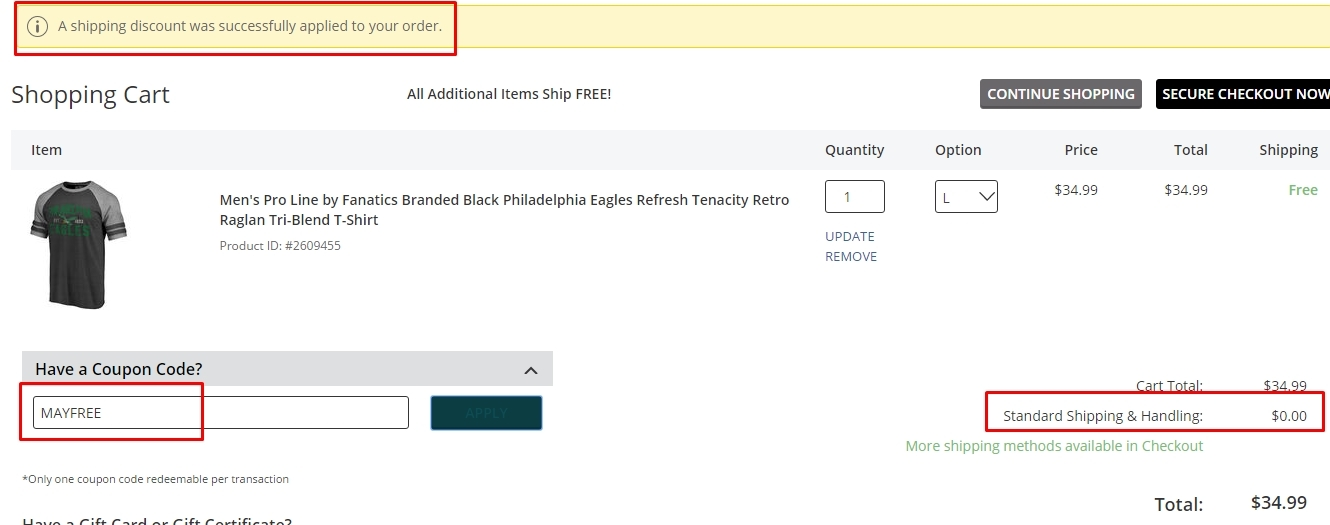 How to Use Official Philadelphia Eagles Pro Shop Coupons