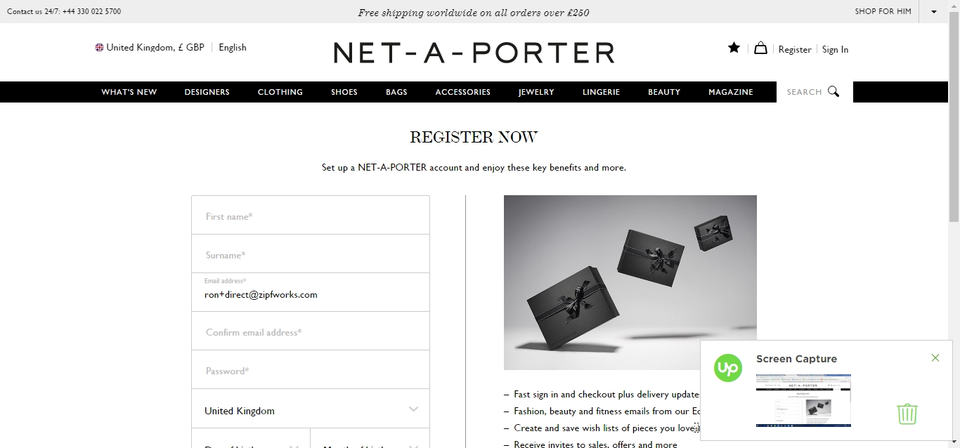 Get exclusive Net-A-Porter coupon codes & discounts when you join the Net-A-Porter email list Ends Dec. 31, Living a refined lifestyle doesn't have to cost a fortune when you shop online at NET-A-PORTER for designer leather goods, apparel and fashion accessories.
