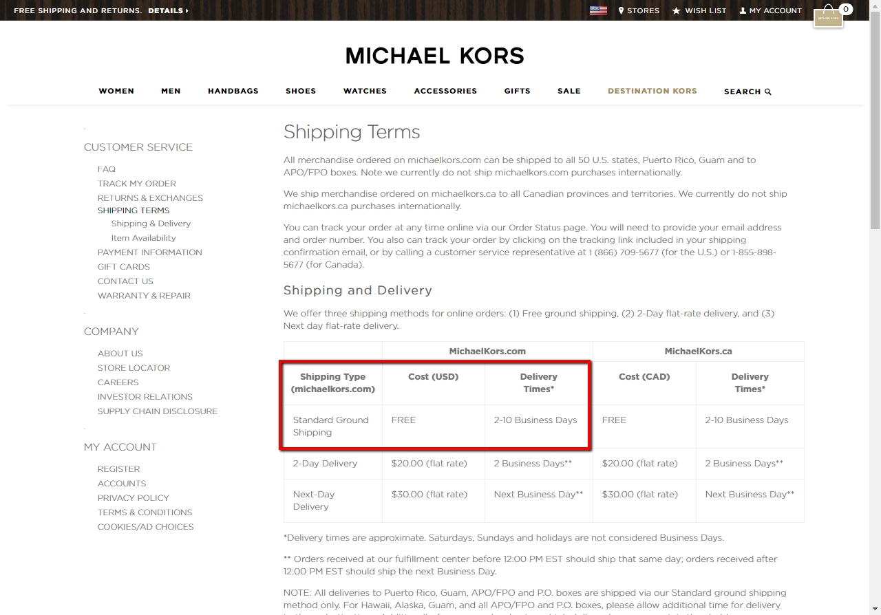 Michael kors online coupon code 2018