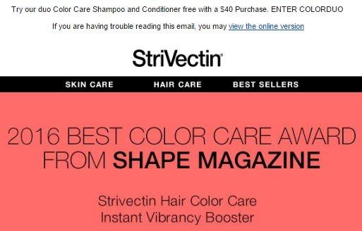 Strivectin discount coupons