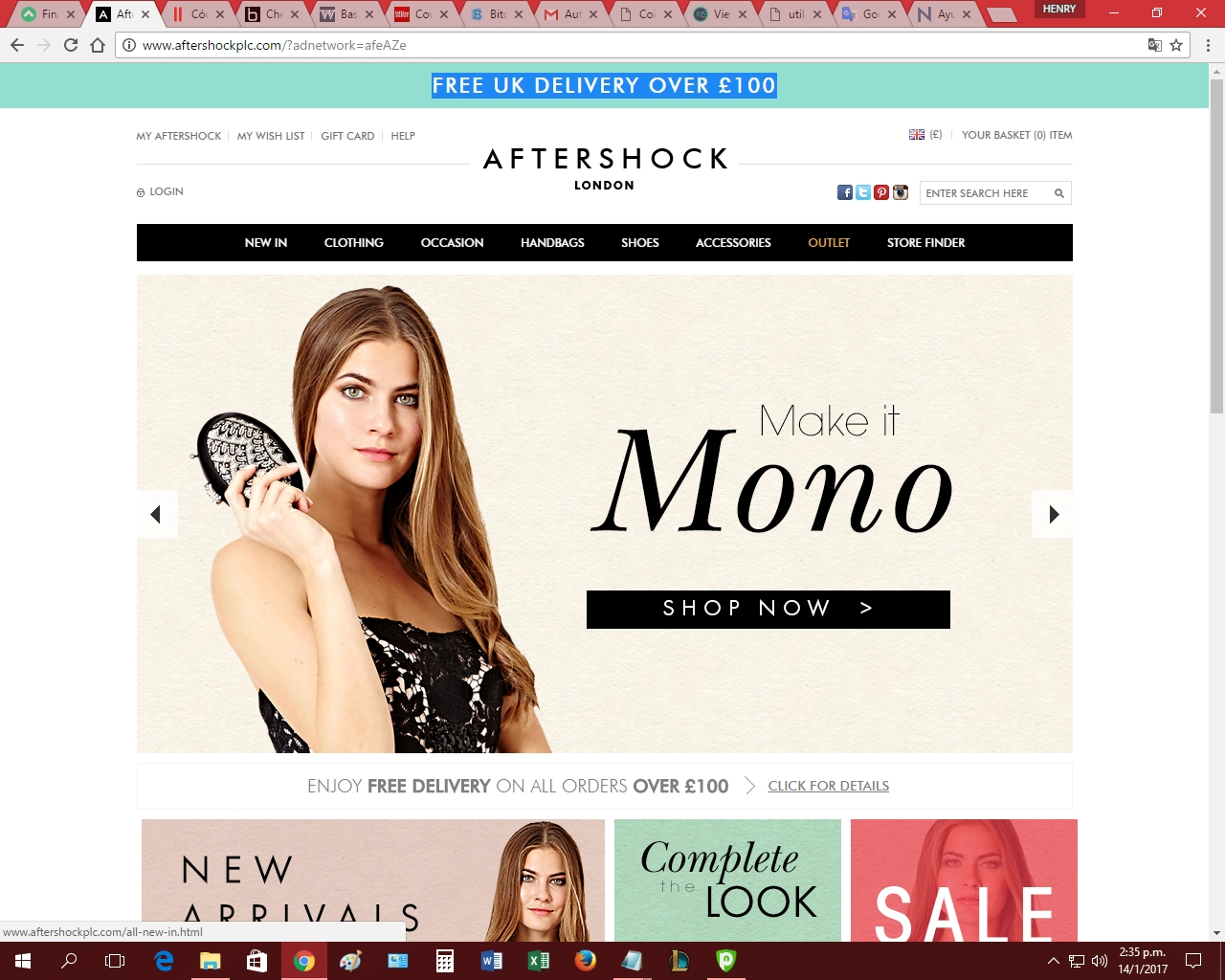 We have aftershock coupons for you to consider including promo codes and 0 deals in December Grab a free sepfeyms.ga coupons and save money. Aftershock London sells the latest luxury designer womenswear clothing and accessories. Shop online for maxi dresses, evening dresses, tops and accessories.5/5(1).