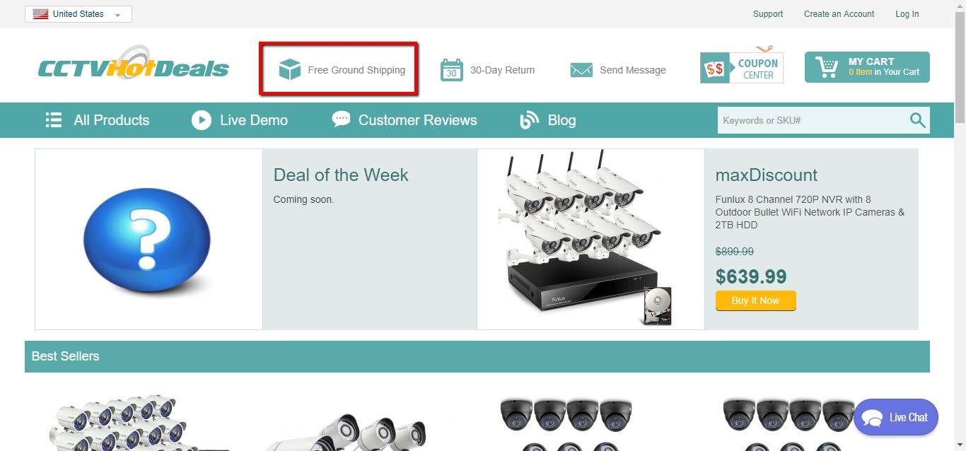 Hot uk deals cctv