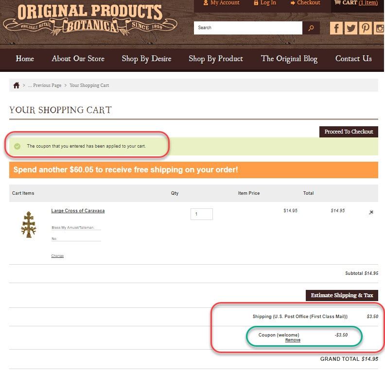 Original penguin free shipping coupon code