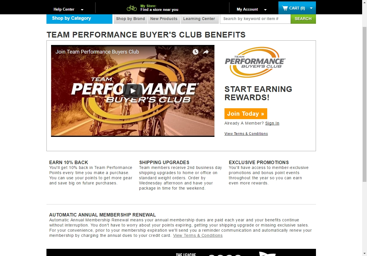 performance bike coupon in store
