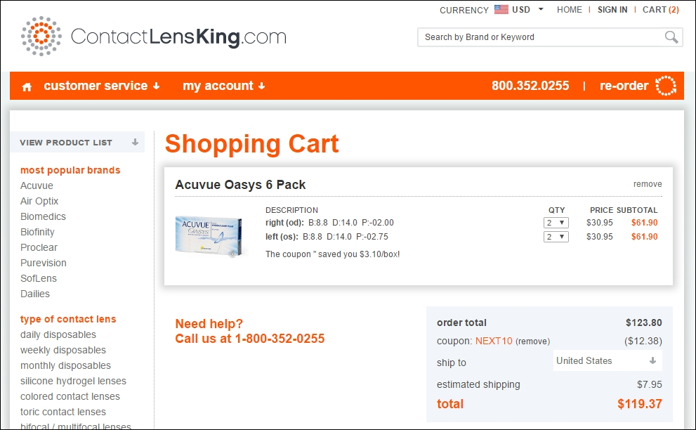 30% Off Contact Lens King Coupon + 10 Verified Promo Codes ...