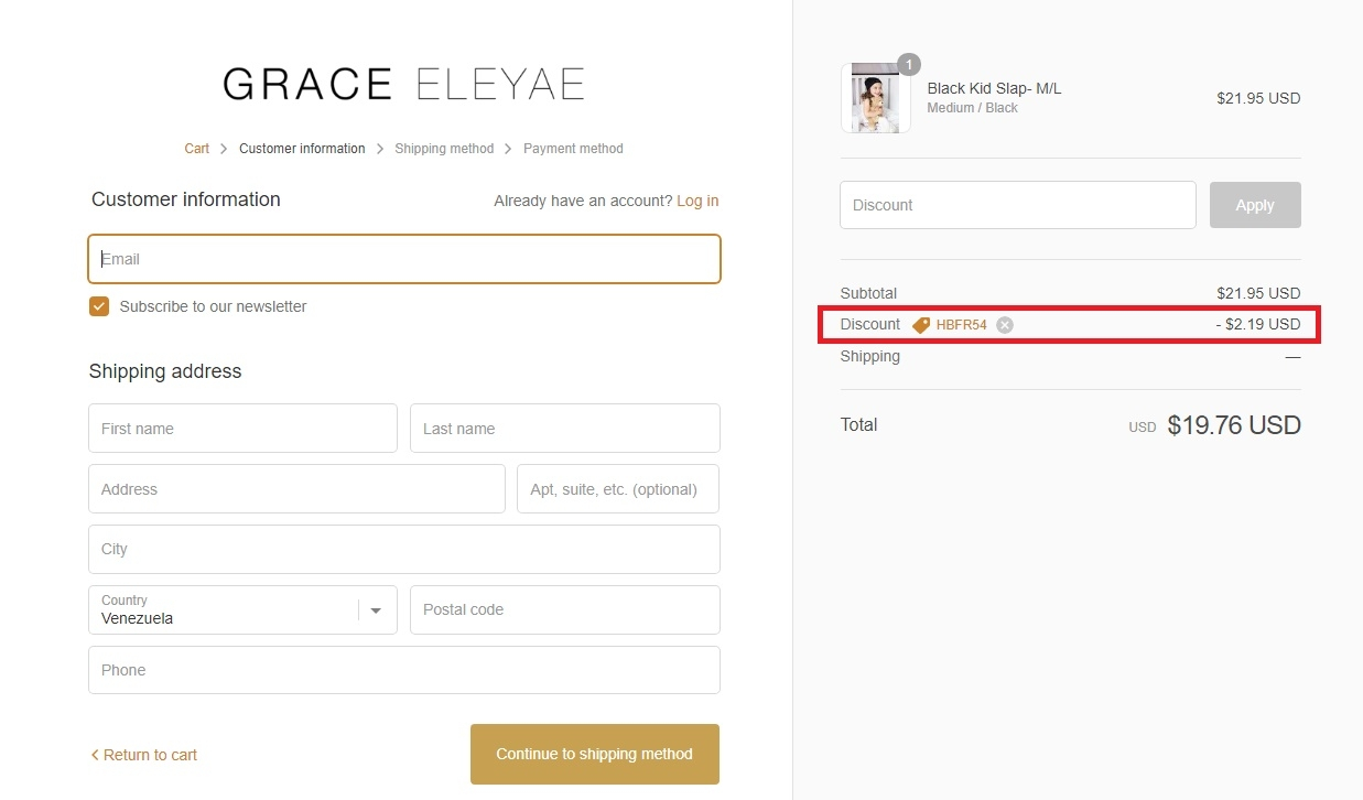 Grace eleyae coupon code
