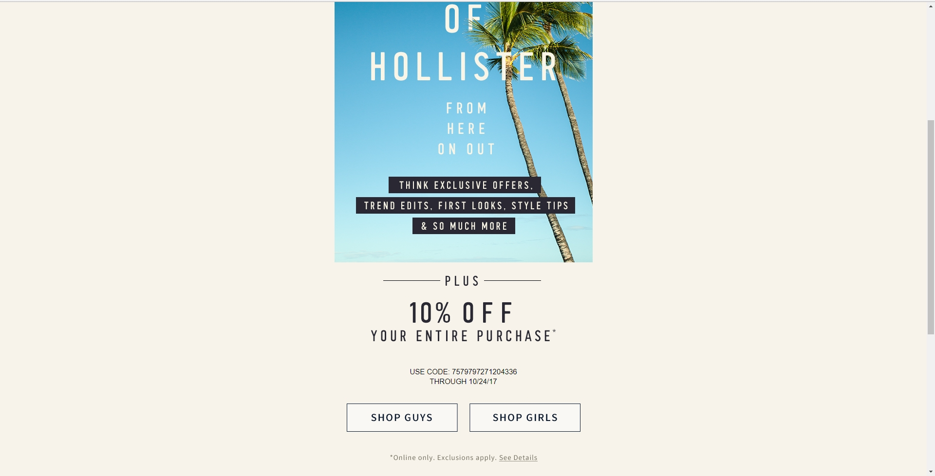 hollister singles Join one of best online dating sites for single people you will meet single, smart, beautiful men and women in your city.