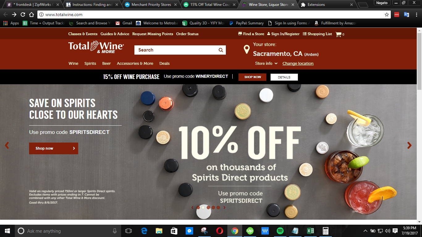Champagne direct discount coupon