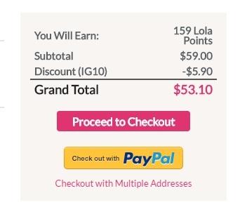 Lola coupon code