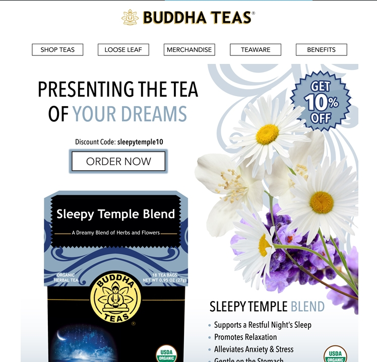 Teas coupon code