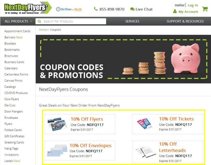 Next day flyers shipping coupon santa deals cork vistaprint coupons promo codes deals november 2017 reheart Gallery