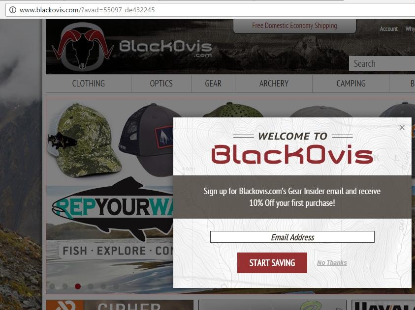 Blackovis coupon code