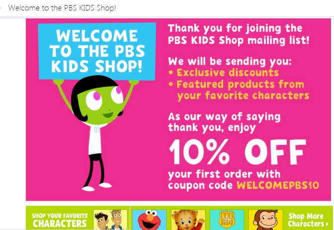 Pbs coupon code