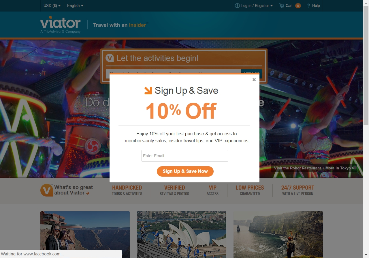 Viator coupon code