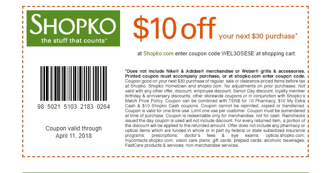 photo about Shopko 20 Off Printable Coupon named Shopko codes - Ruth chris barrington menu