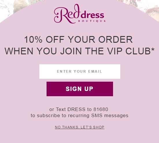 Red dress boutique coupon codes - Best deals