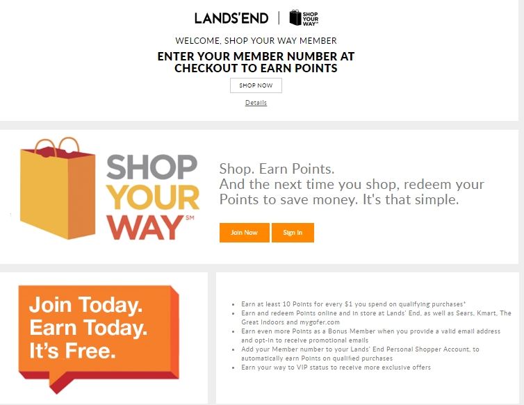 Land's end coupon code