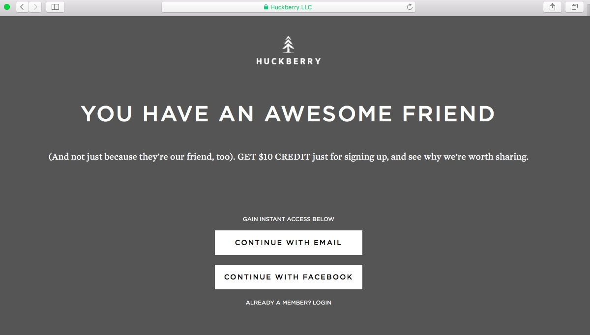Huckberry (@Huckberry) on Twitter