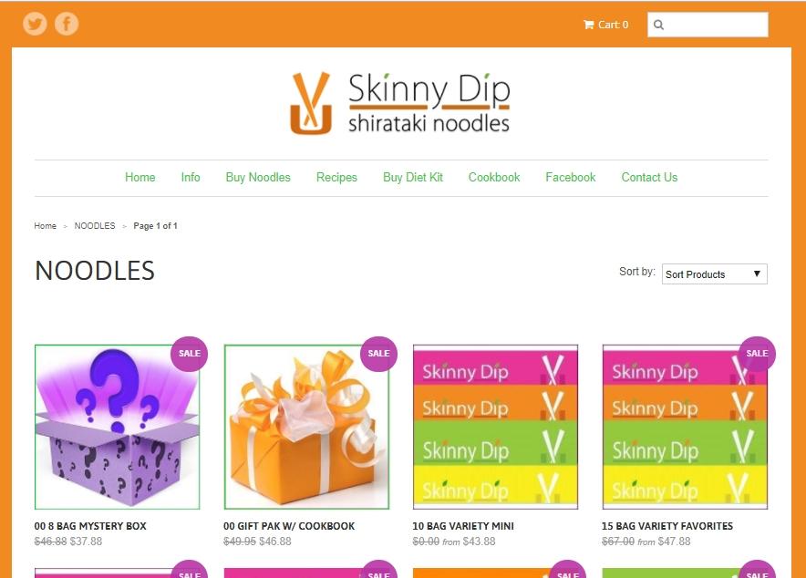 Skinny dip coupons