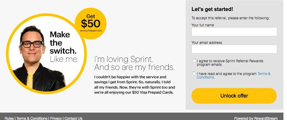x coupon code sprint
