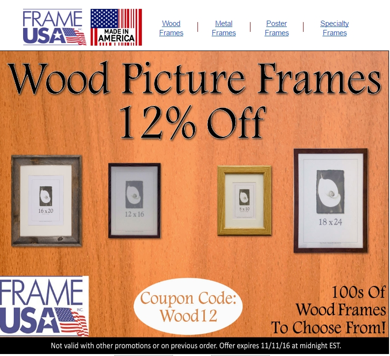 Picture frames com coupon code