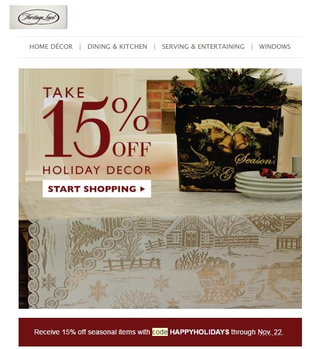 Heritage hampers discount coupon