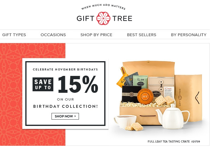 Gifttree.com coupon code