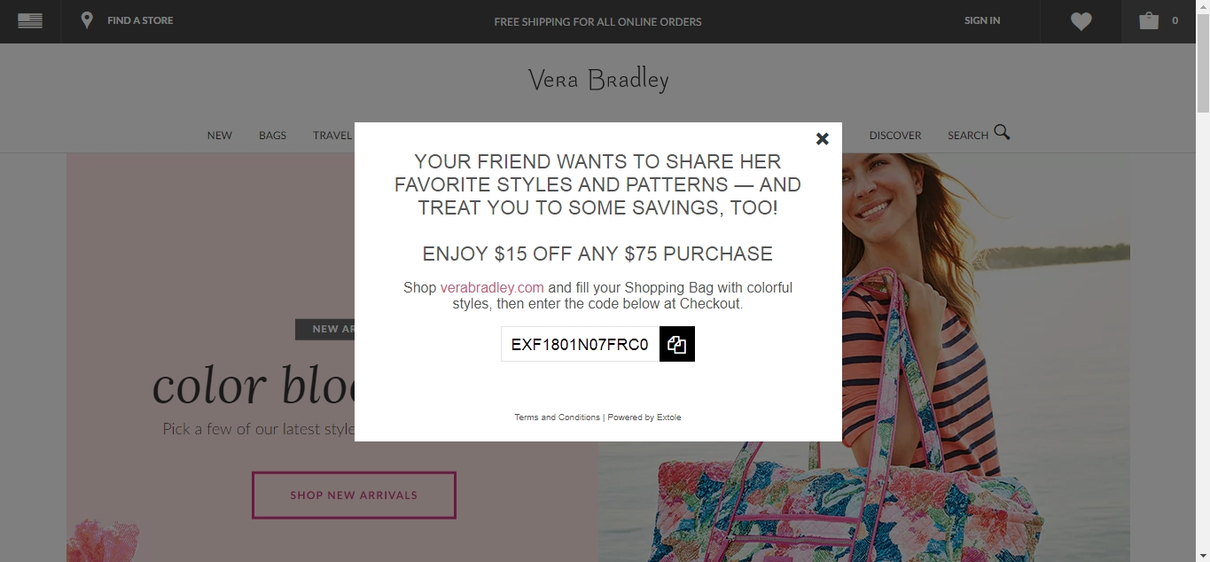 Find the best Vera Bradley promo codes, coupons, deals and discounts for December Save instantly and get cash back with CouponCabin today!