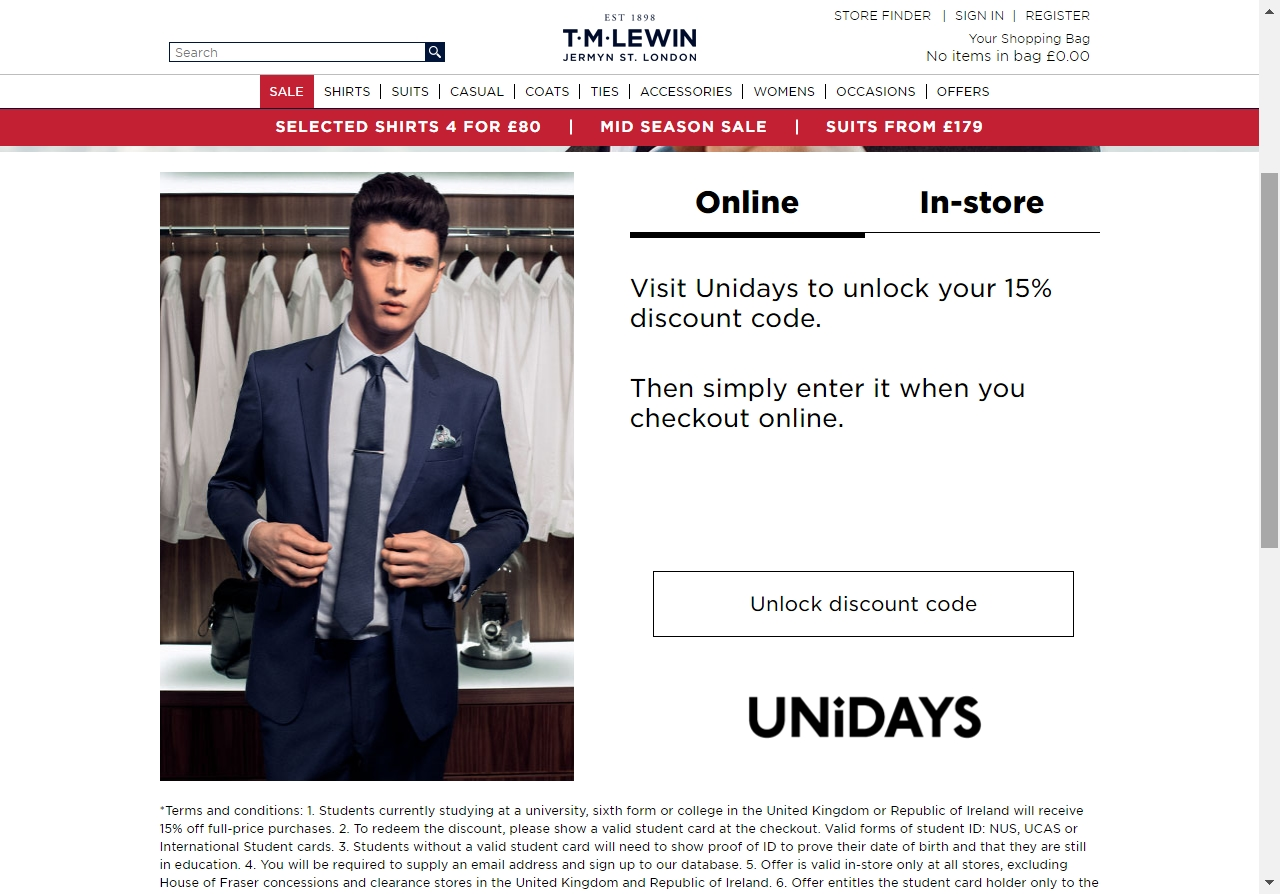 Tm Lewin Coupon Free Shipping