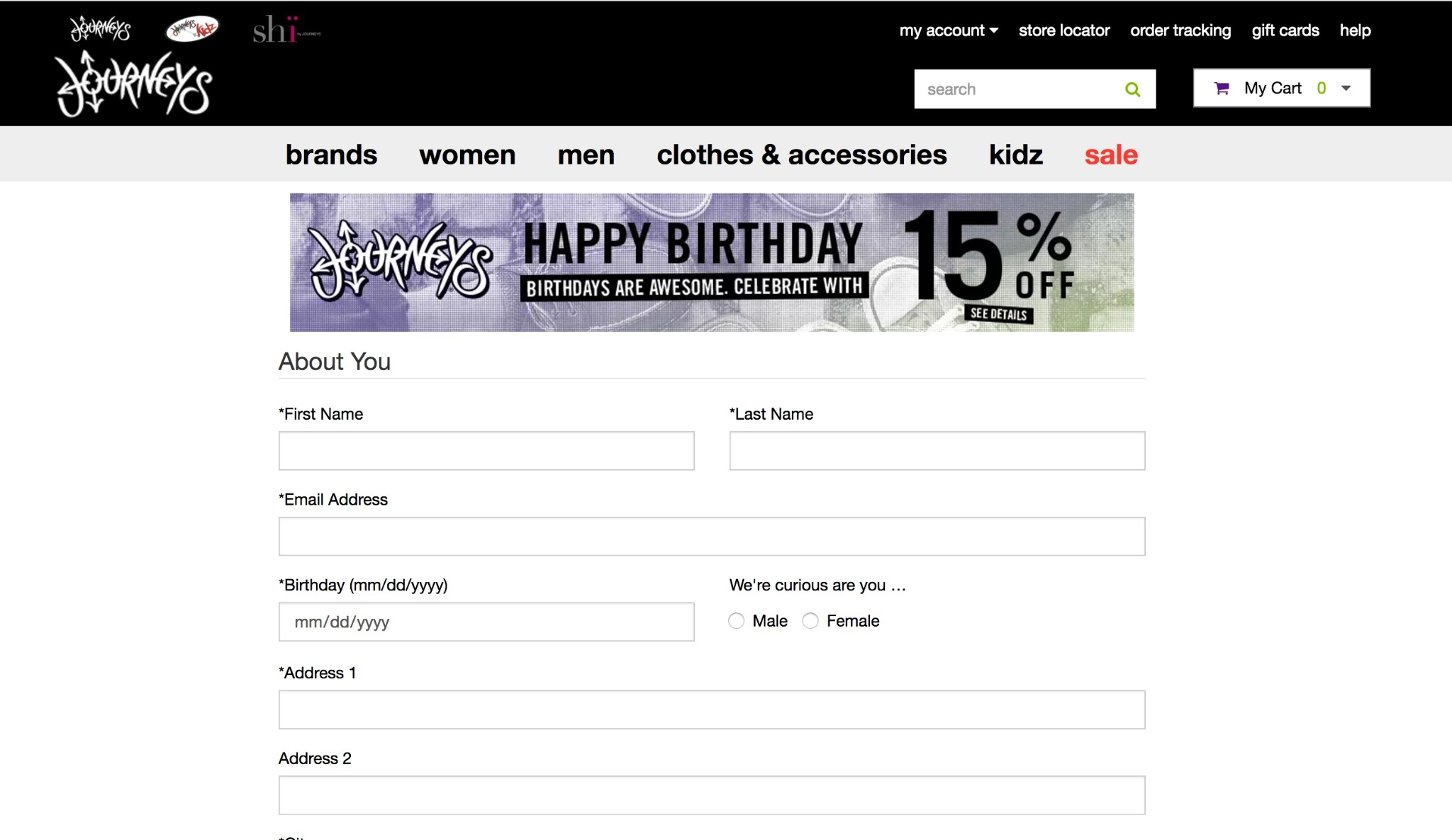Journeys discount coupons