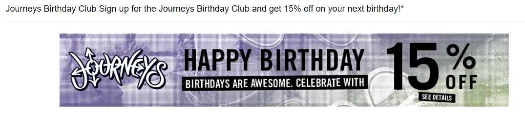 Journeys coupon code free shipping